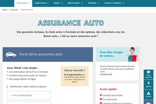 MAAF Assurances auto