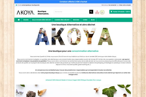 Akoya boutique