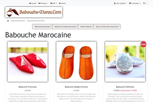 babouche Maroc