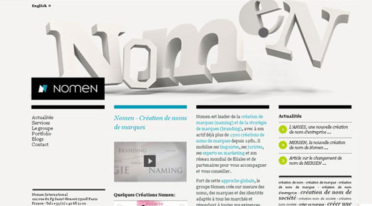 Nomen - Creation de nom d'entreprise