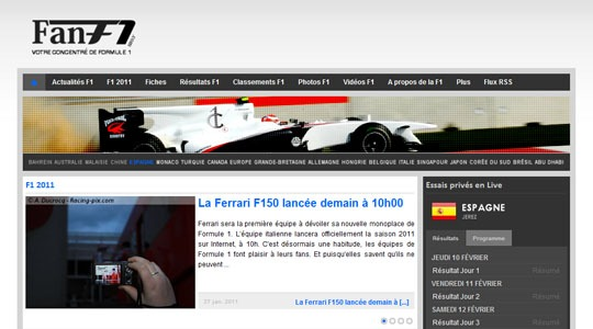 f1 2011 l 39 actualit formule 1. Black Bedroom Furniture Sets. Home Design Ideas