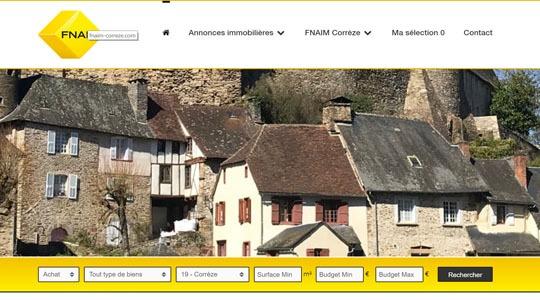 fnaim Corrèze