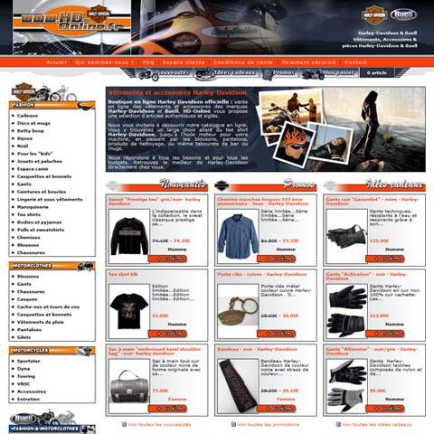 vêtement Harley-Davidson