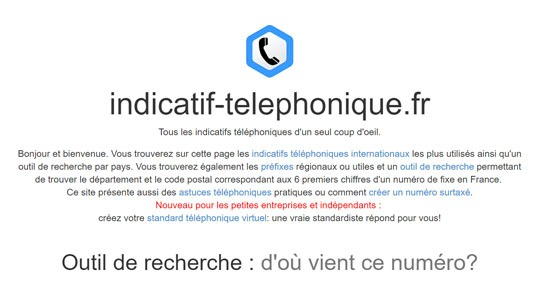 indicatif-telephonique
