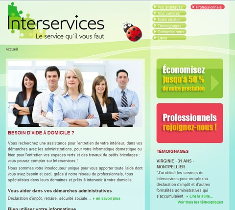 interservices services à domicile