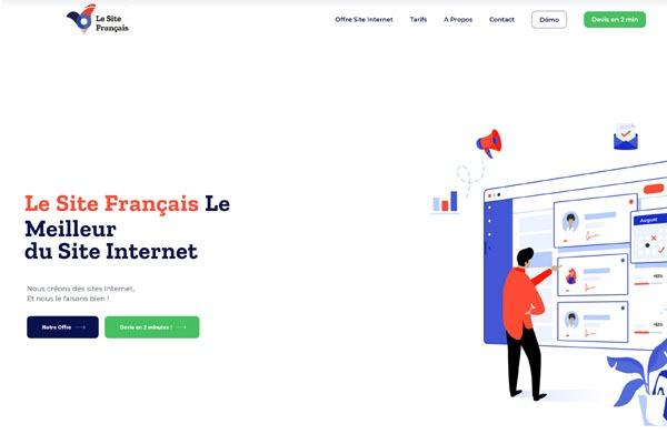 le site français