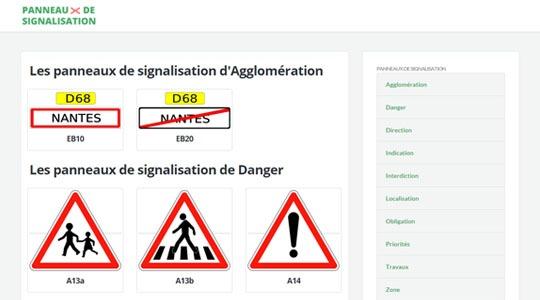 panneau-de-signalisation