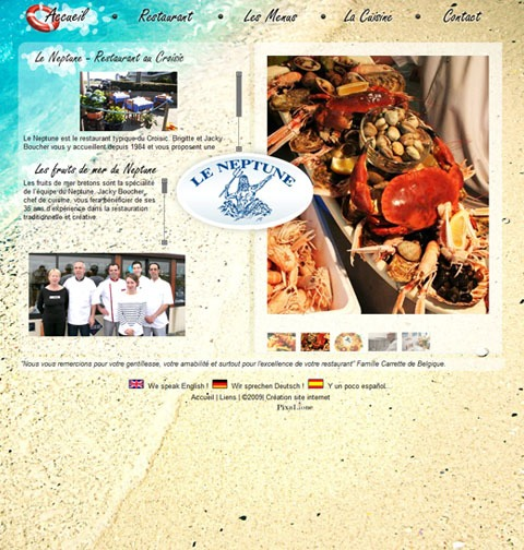 Restaurant croisic le neptune for Restaurant au croisic