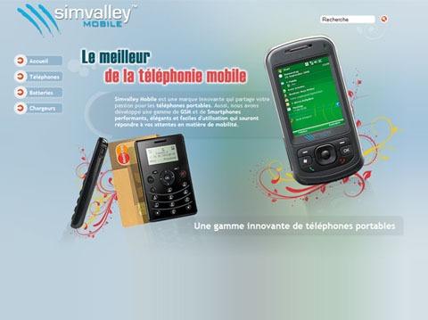 simvalley téléphonie