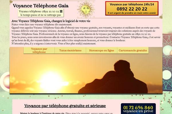 voyance téléphone Gaïa